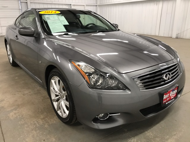 Pre-Owned 2014 INFINITI Q60 Journey RWD 2D Coupe