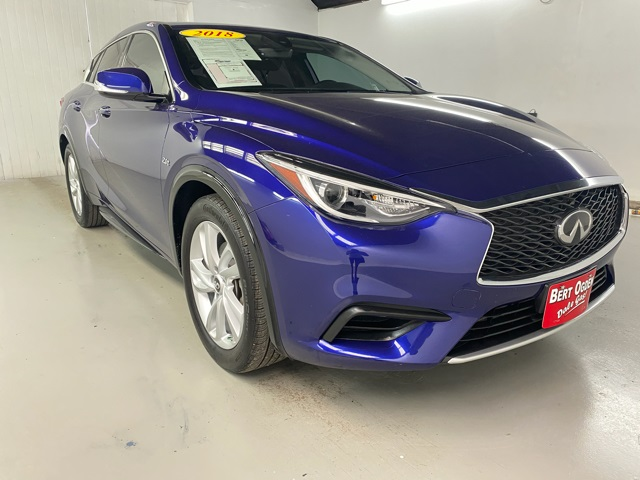 Certified Pre-Owned 2018 INFINITI QX30 PURE FWD 4D Sport Utility